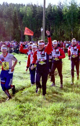 Sulkava Jukola 2003 Mats Haldin ja Halden