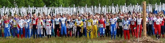Jukola 2003 Venlojen lähtö