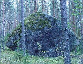 Hiidenkivi. (c)Sulkava-Jukola 2003, Kristian Liljeström